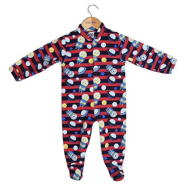 Macacão Pijama Infantil - Espaço - Tip Top