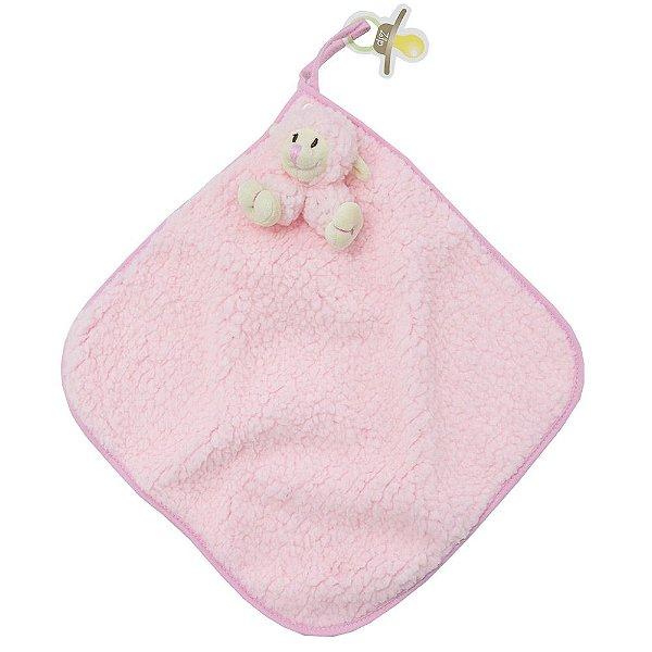 Toalha de Boca Blanket Cetim - Carola - Zip Toys