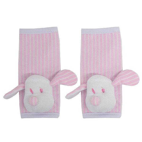 Protetor para Cinto - Cachorrinha Listrada Rosa - Zip Toys