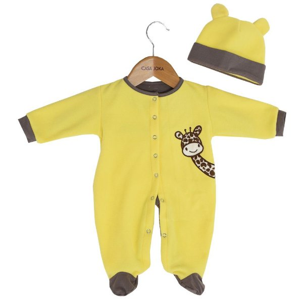 Kit Pijama + Gorro - Girafa Isis - Zip Toys