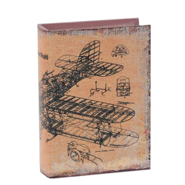 Livro Caixa Decorativa Média - Westland Wapiti - Mart