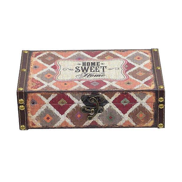 Caixa Decorativa Média - Home Sweet Home - Mart