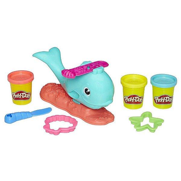 Conjunto Play-Doh Baleia Divertida - Hasbro