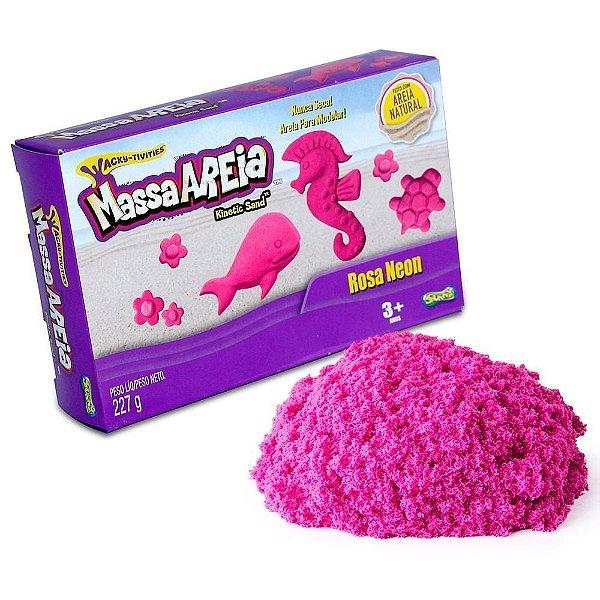 Massa Areia Neon - Rosa Neon - Sunny