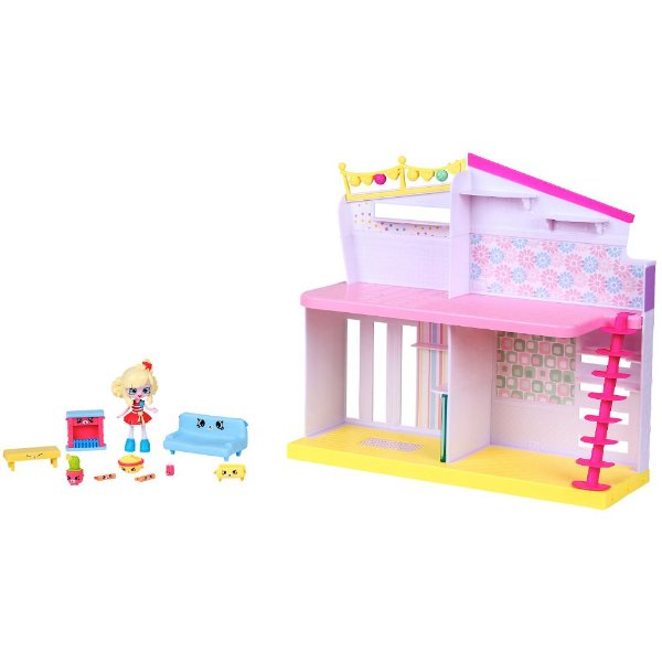 Shopkins Happy Places Pipokátia - Sala Cachorrinho - DTC