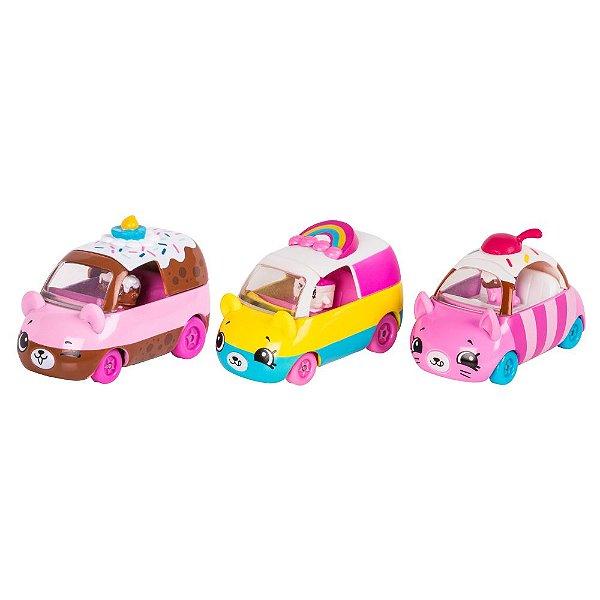 Shopkins Cutie Cars - Coleção Bolinhos - DTC