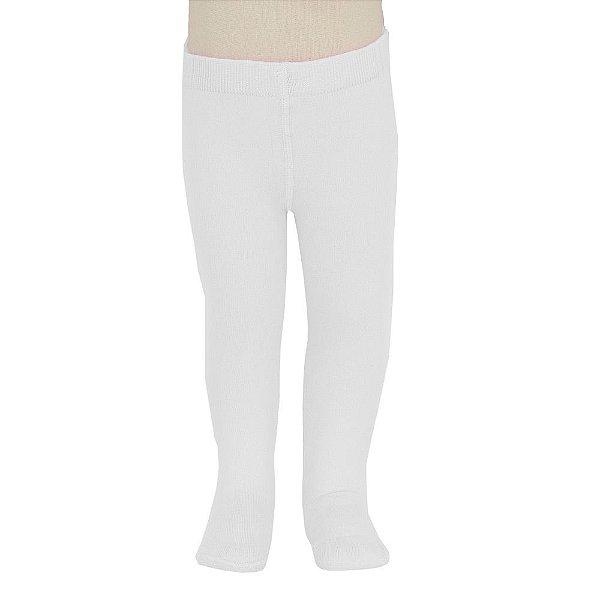 Meia Calça Opaca Fio 40 Lobinha - Branca - Lupo