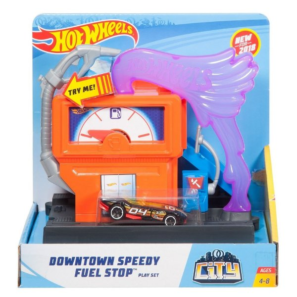 Conjunto Hot Wheels City - Posto de Gasolina - Mattel