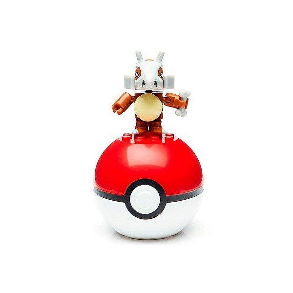 Pokebola Mega Construx Pokémon - Cubone - Mattel