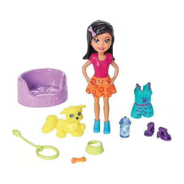 Polly Pocket - Brincadeira dos Bichinhos Crissy - Mattel