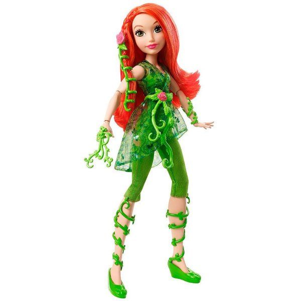Boneca DC Super Hero Girls - Poison Ivy - Mattel