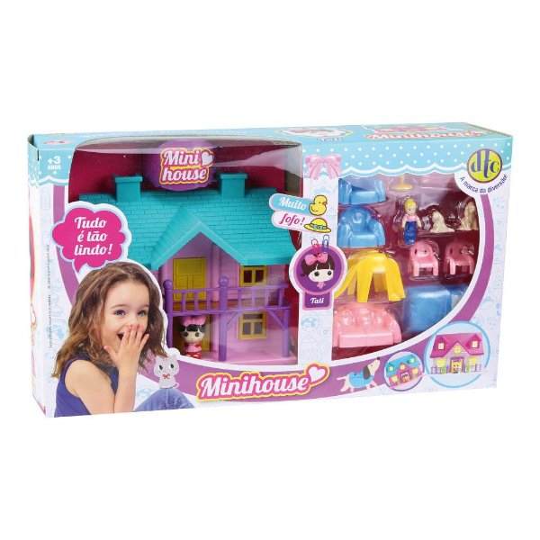 Conjunto Mini House - Tati - DTC