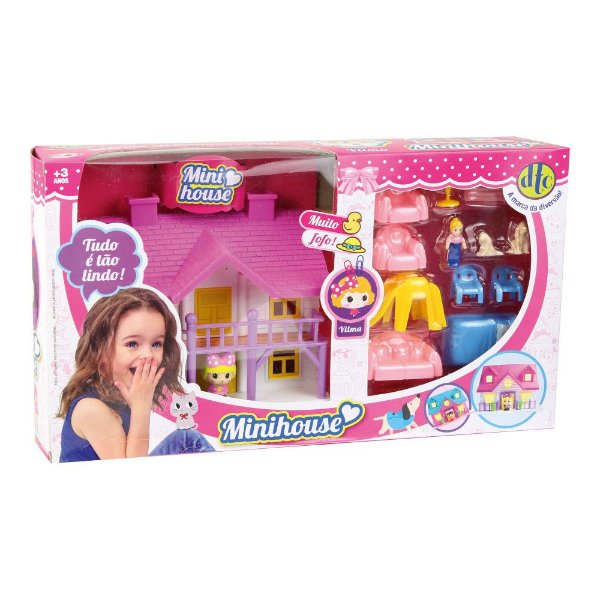 Conjunto Mini House - Vilma - DTC