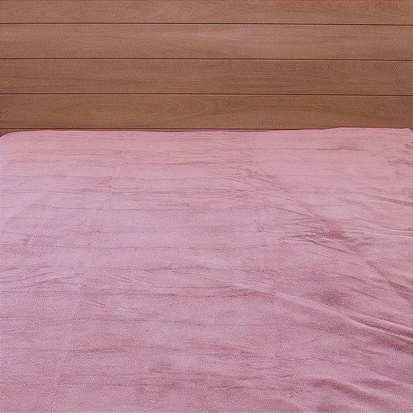 Cobertor Microfibra Casal - Rosa - Parahyba