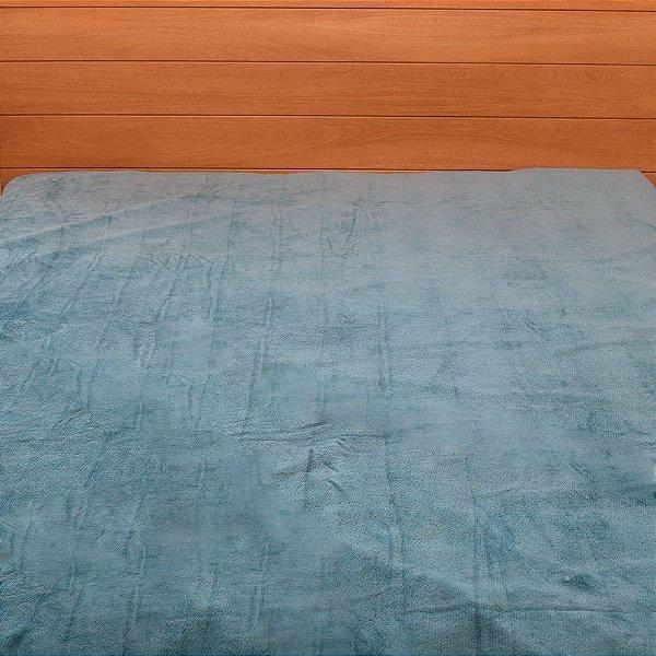 Cobertor Microfibra Queen - Azul - Parahyba