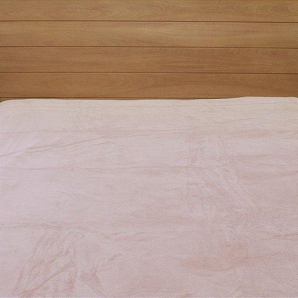 Cobertor em Microfibra Aspen Queen - Rosa Bebê - Buddemeyer