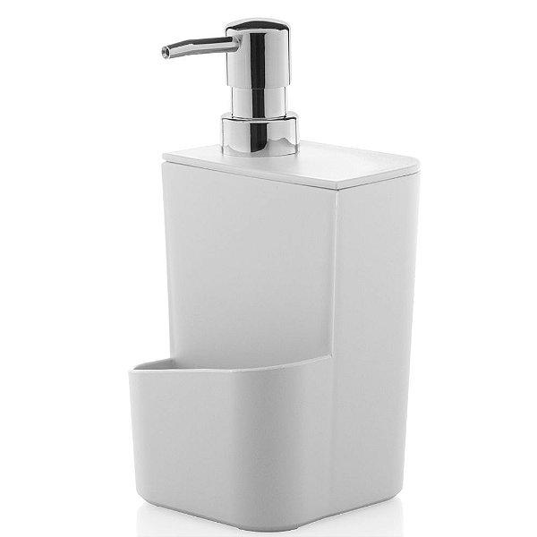 Dispenser de Detergente 650ml - Branco - Ou