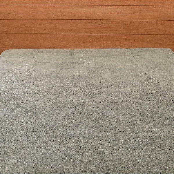 Cobertor em Microfibra Aspen King - Marrom Claro - Buddemeyer