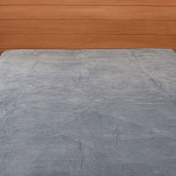 Cobertor em Microfibra Aspen Queen - Azul - Buddemeyer
