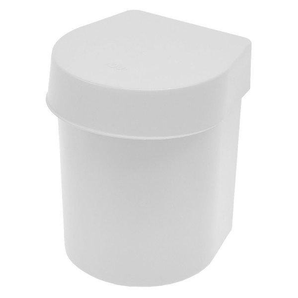 Lixeira de Pia Hide 3,5 Litros - Branca - Ou