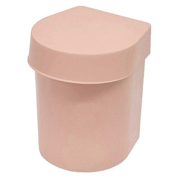Lixeira de Pia Hide 3,5 Litros - Rosa - Ou