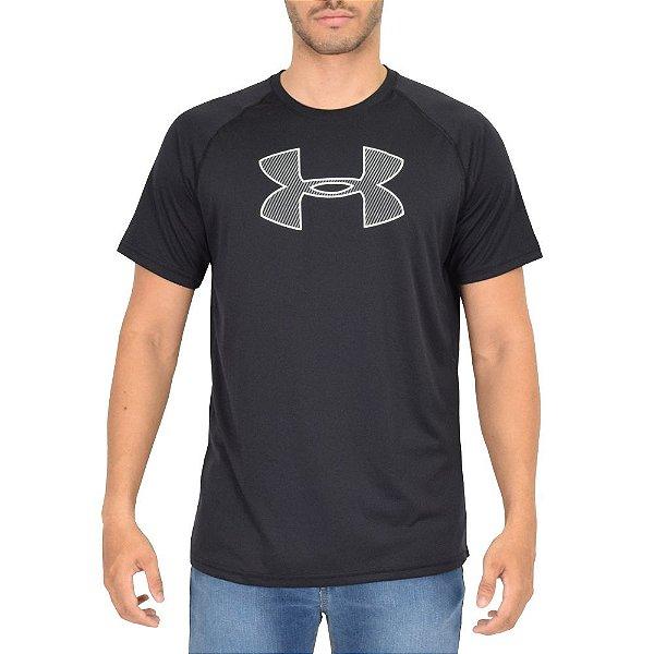 Camiseta Masculina Big Logo Preta - Under Armour