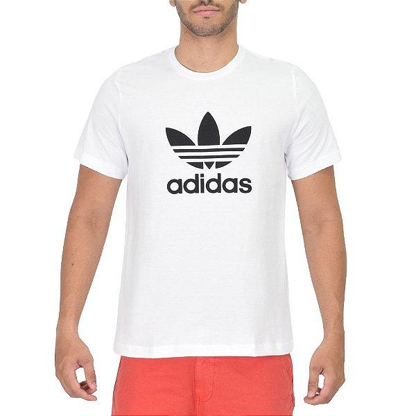 Camiseta Masculina Trefoil White - Adidas