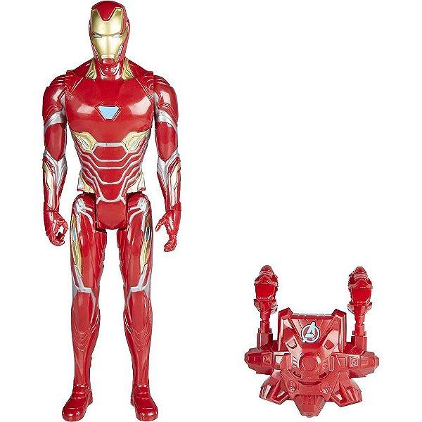 Boneco Homem de Ferro Power FX - Avengers Infinity War - Hasbro