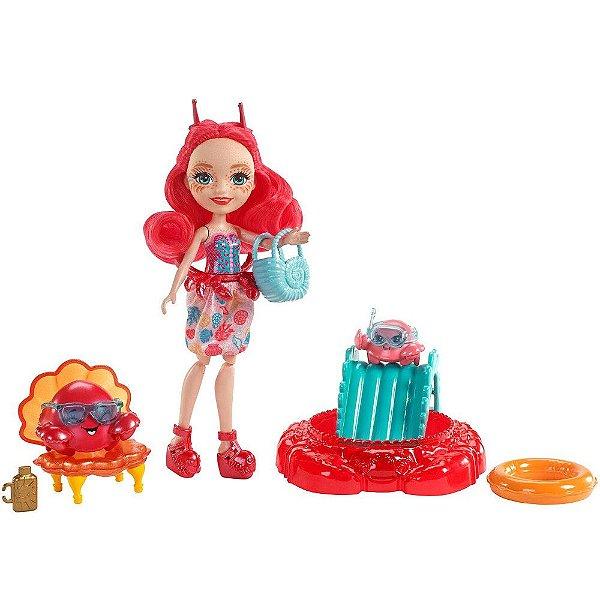 Enchantimals Praia - Cameo Crab e Chela & Courtney - Mattel
