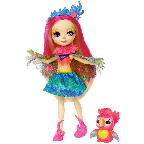 Enchantimals - Peeki Parrot e Sheeny - Mattel