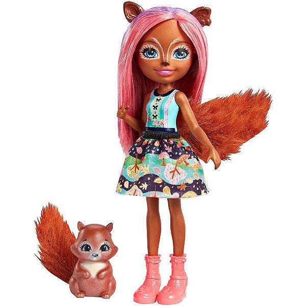 Enchantimals - Sancha Squirrel e Stumper - Mattel