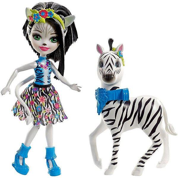Enchantimals Conjunto - Zelena Zebra e Hoofette - Mattel