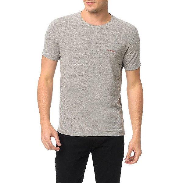 Camiseta Masculina Pro Red - Cinza - Calvin Klein