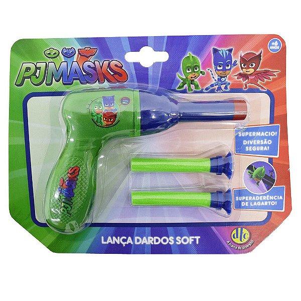Lança Dardos Soft Pjmasks - DTC
