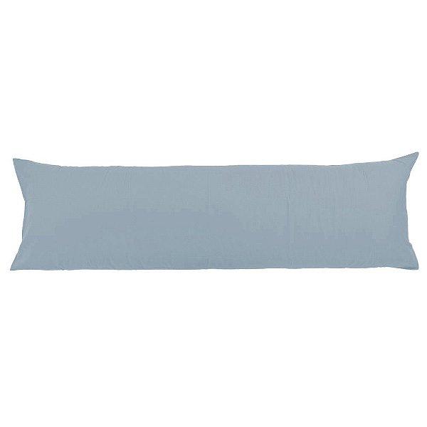 Fronha para Body Pillow Azul Luxury - Travesseiro de Corpo - Altenburg