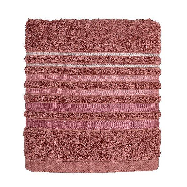 Toalha de Rosto Le Bain Gavea - Rosa Coral - Artex