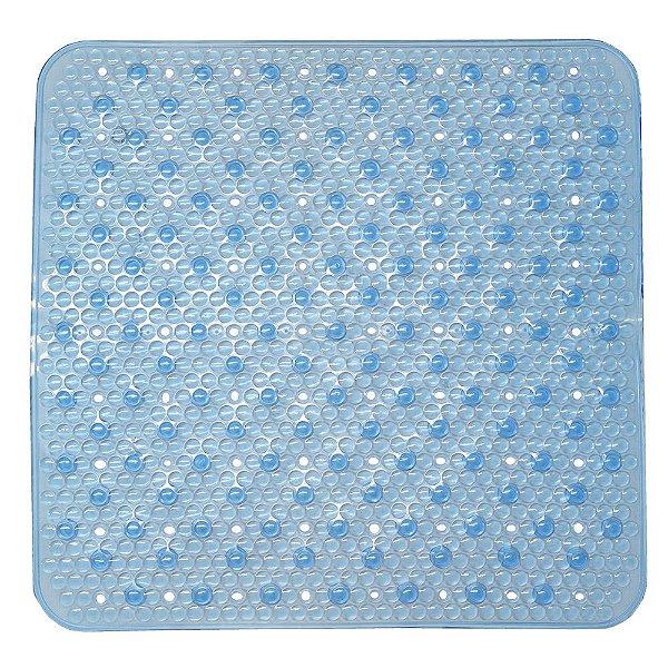 Tapete Antiderrapante Para Box Attuale - Azul - Corttex