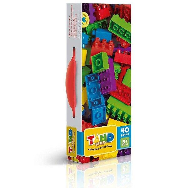 Maleta Tand 40 Peças Para Montar - Toyster