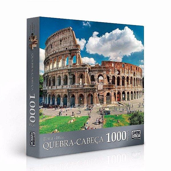 Quebra-Cabeça 1000 Peças - Roma - Toyster