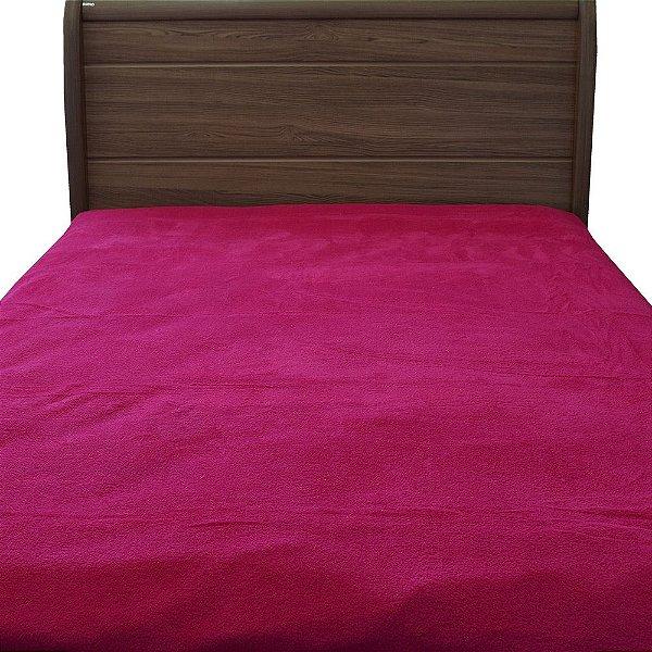 Manta Microfibra Flanel Casal - Pink - Corttex