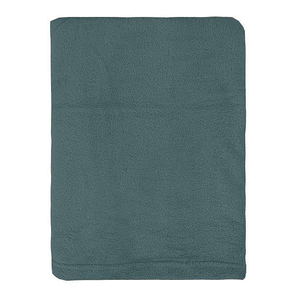 Cobertor Microfibra Para Viagem - Cinza Grafite - Parahyba