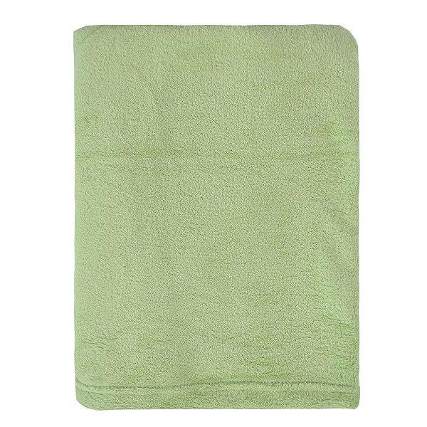 Cobertor Microfibra Para Viagem - Verde Claro - Parahyba