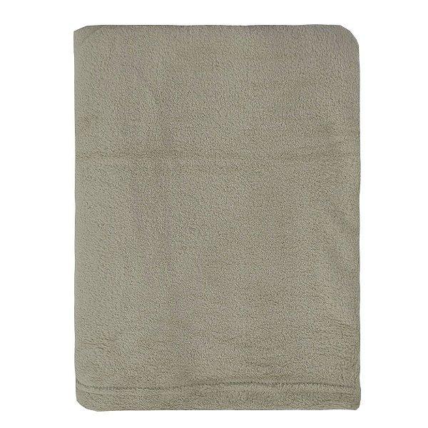 Cobertor Microfibra Para Viagem - Marrom Claro - Parahyba
