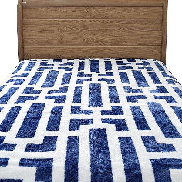 Cobertor Raschel Casal Home Design - Davis - Corttex