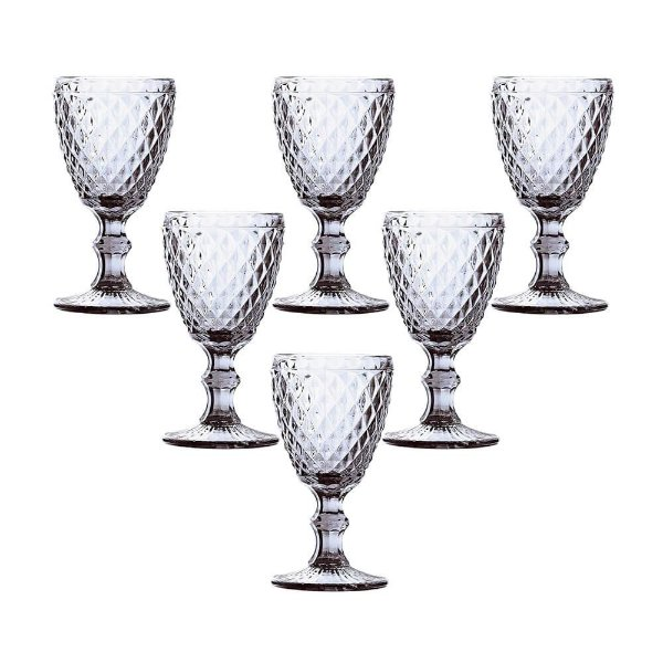 Jogo de Taças de Água Verre 250ml - Clear - Mimo Style