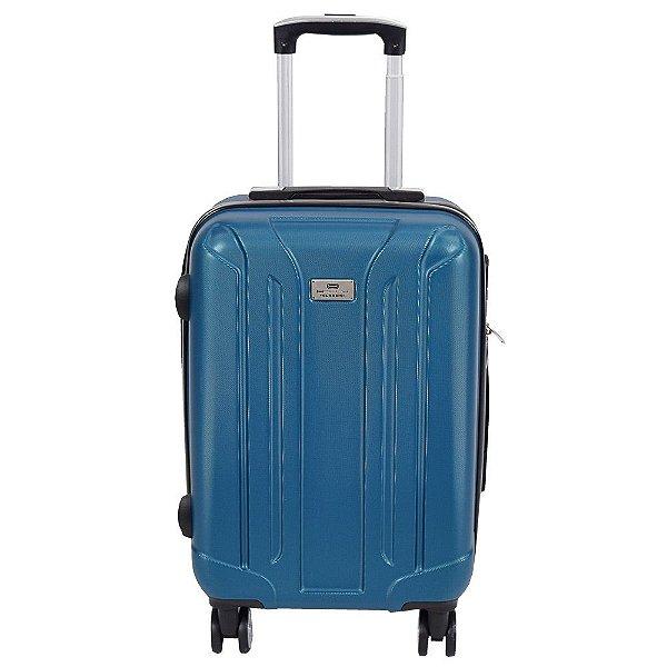 """Mala de Viagem ABS Pequena 20"""" - Azul - Holly"""