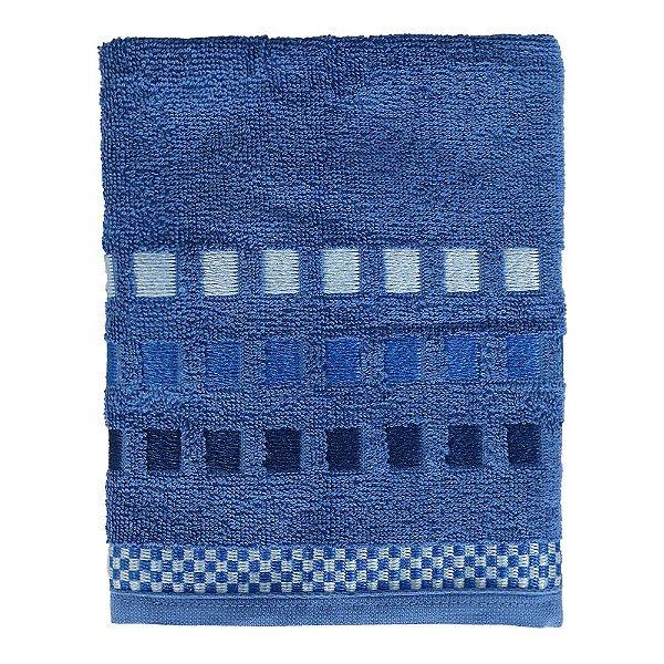 Toalha de Rosto Allegra Calera - Azul Royal - Karsten