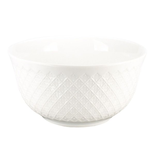 Bowl em Porcelana Cuenco Branco - Pontilhados - L'Hermitage