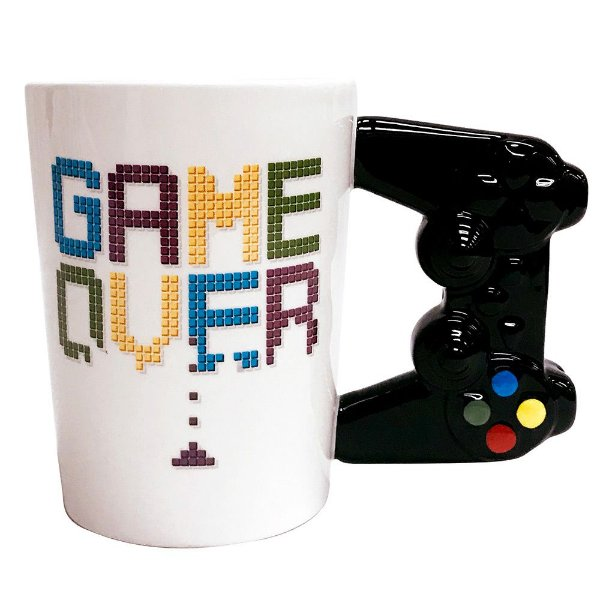 Caneca Fun 350ml - Game Over - Dynasty