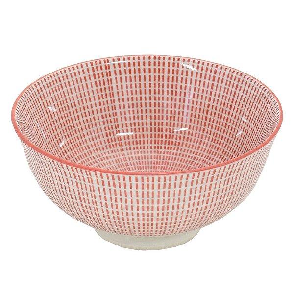 Bowl em Porcelana 280ml - Vermelho Ilusão - Full Fit